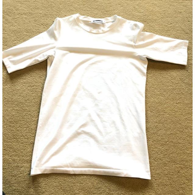 Jil Sander(ジルサンダー)のジルサンダー JIL SANDER Tシャツ ホワイト メンズのトップス(Tシャツ/カットソー(半袖/袖なし))の商品写真