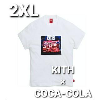 コカコーラ(コカ・コーラ)の[新品] KITH × COCA-COLA WATER VINTAGE TEE(Tシャツ/カットソー(半袖/袖なし))