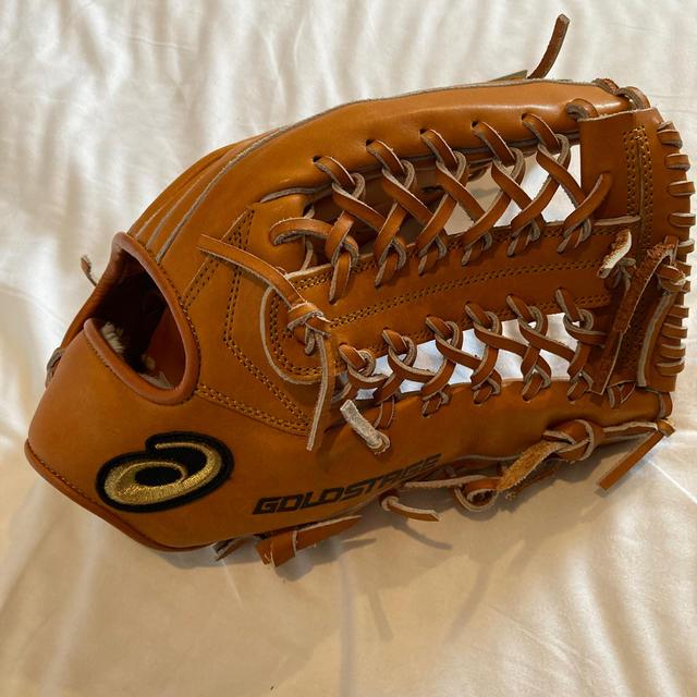 asics(アシックス)のASICS 軟式グローブ ゴールドステージ ロイヤルロード 外野手用  スポーツ/アウトドアの野球(グローブ)の商品写真
