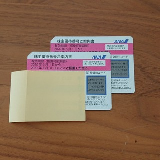 エーエヌエー(ゼンニッポンクウユ)(ANA(全日本空輸))のANA 株主優待券(その他)
