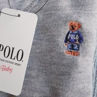 POLO RALPH LAUREN - 新品 POLOBaby ポロベア トレーナー ポケット付き 80