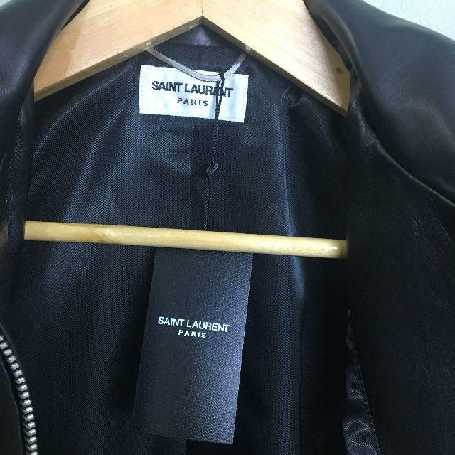 Saint Laurent(サンローラン)のSaint laurent paris レザージャケット メンズのジャケット/アウター(レザージャケット)の商品写真