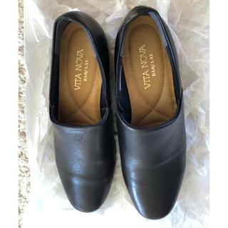 バークレー(BARCLAY)のBARCLAY  ブラック 革靴 22.5 バークレイ バークレー(ローファー/革靴)