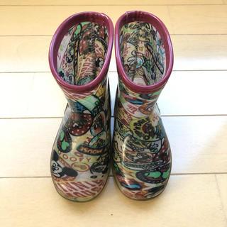 ディズニー(Disney)のミッキー  レインブーツ 14cm(長靴/レインシューズ)