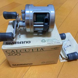 シマノ(SHIMANO)のシマノ 92カルカッタ200(リール)