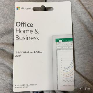 マイクロソフト(Microsoft)のMicrosoft Office Home Business 2019(その他)