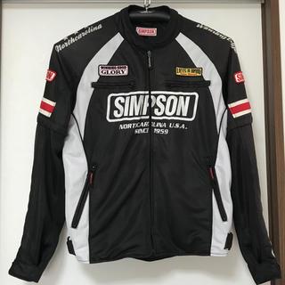 SIMPSON - シンプソン バイクジャケット メッシュジャケット