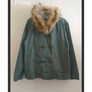 レプシィム(LEPSIM)の【美品】LEPSIM ライナー付きミリタリージャケット(ミリタリージャケット)