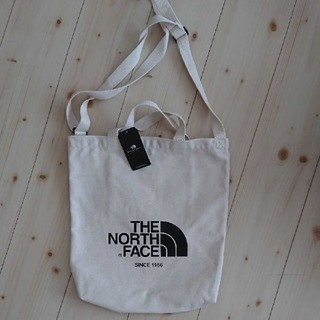 ザノースフェイス(THE NORTH FACE)の新品 THE NORTH FACE トートバッグ キャンバス ショルダーバッグ(トートバッグ)