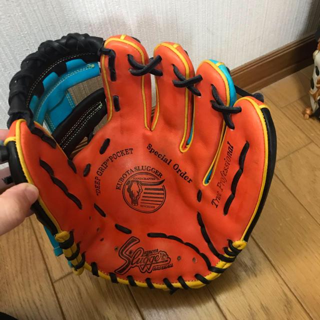 久保田スラッガー(クボタスラッガー)の久保田スラッガー 軟式用グローブ スポーツ/アウトドアの野球(グローブ)の商品写真