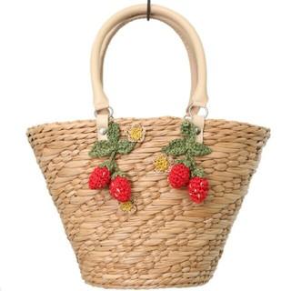 Shirley Temple - シャーリーテンプル 新品未使用 いちご バスケット かごバッグ
