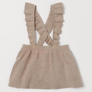 エイチアンドエム(H&M)の未着用 h&mベビー スカート オーガニックコットン(スカート)
