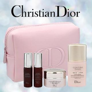 ディオール(Dior)の【Dior】 ディオール ノベルティ カプチュール トータル トライアル セット(サンプル/トライアルキット)