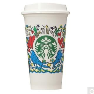 Starbucks Coffee - ♡1点♡ スターバックス リユーザブルカップ 第1弾 ホエールシャーク 473m