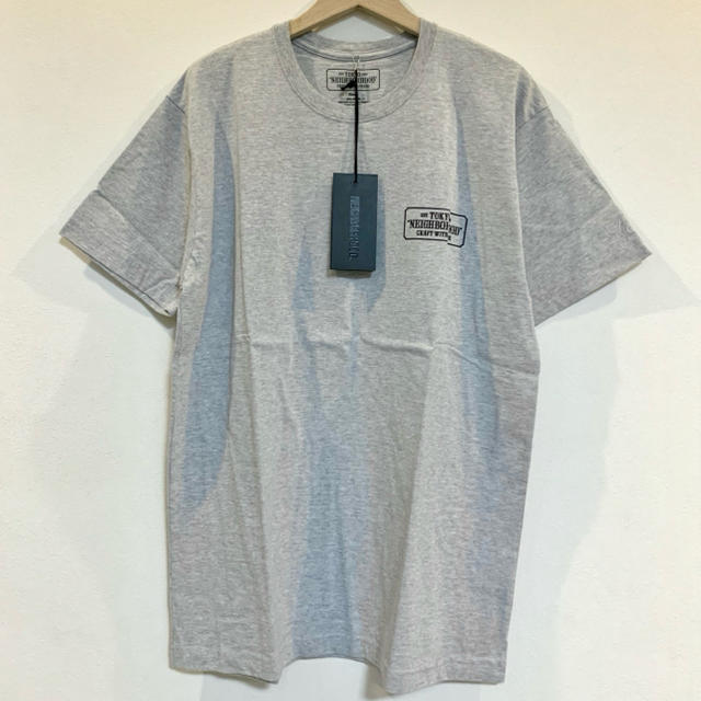 NEIGHBORHOOD(ネイバーフッド)のNEIGHBORHOOD BAR & SHIELD/C-TEE.SS グレー メンズのトップス(Tシャツ/カットソー(半袖/袖なし))の商品写真
