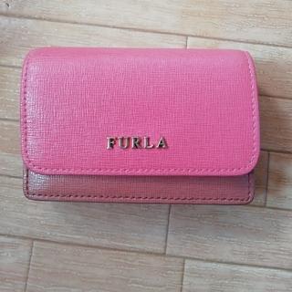 フルラ(Furla)の専用FURLA バイカラー名刺入れ(名刺入れ/定期入れ)