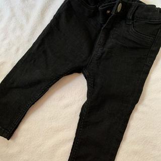 エイチアンドエム(H&M)の黒スキニーパンツ 75(パンツ)