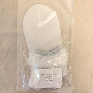 ミナペルホネン(mina perhonen)のアンティパスト 靴下 antipast  ミナペルホネン(ソックス)