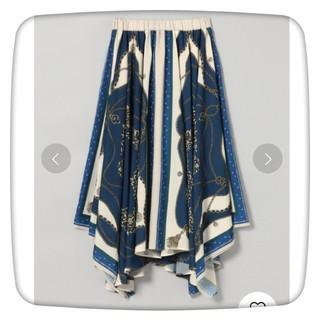 ジーナシス(JEANASIS)のジーナシス JEANASIS アソートスカーフアシメスカート/ロングスカート(ロングスカート)
