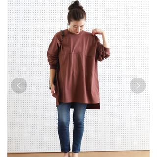 フリークスストア(FREAK'S STORE)の【WEB限定】ビッグシルエット フットボールTシャツ(ロンT)(Tシャツ(長袖/七分))