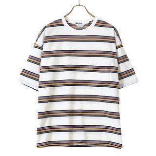 UNUSED - 20ss  即完売 unused ボーダーTシャツ アンユーズド US1728
