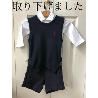ファミリア(familiar)のフォーマル 80ー90 セット ファミリア  バミューダパンツ(セレモニードレス/スーツ)