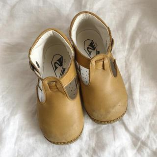 Caramel baby&child  - peep zoom 革靴