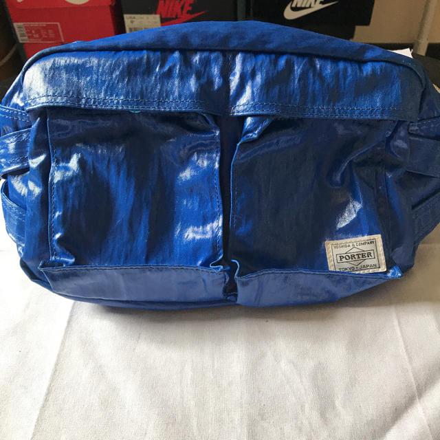 PORTER(ポーター)の[激レア] PORTER ポーター ショルダーバッグ ボディバッグ 青 ブルー メンズのバッグ(ショルダーバッグ)の商品写真