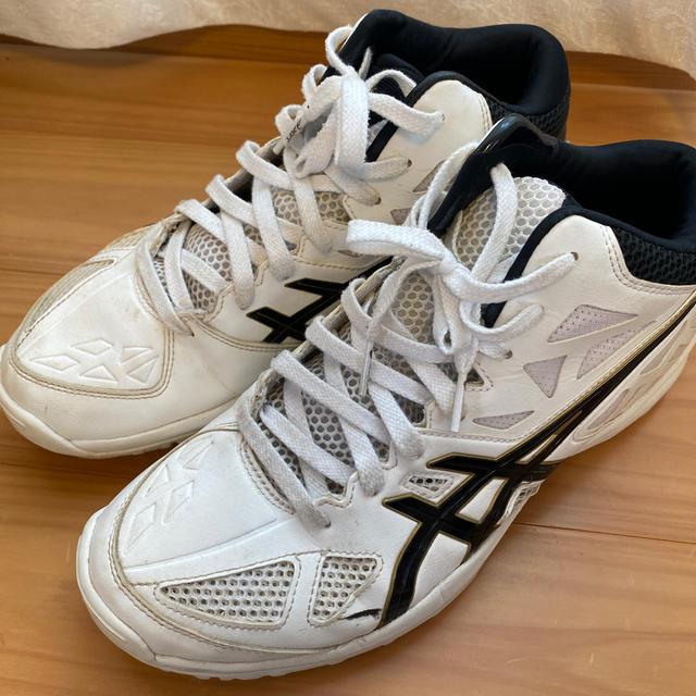 asics(アシックス)のASICS  バスケットシューズ 26.5センチ シューズバッグつき スポーツ/アウトドアのスポーツ/アウトドア その他(バスケットボール)の商品写真