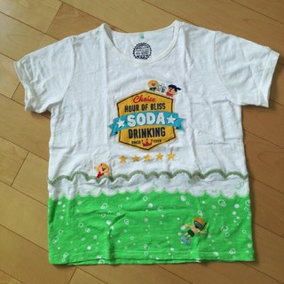 ラフ(rough)のroughのTシャツ メロンソーダ(Tシャツ(半袖/袖なし))