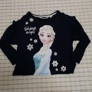 エイチアンドエム(H&M)の110 アナと雪エルサ 長袖Tシャツ h&m(Tシャツ/カットソー)