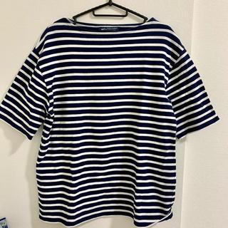 セントジェームス(SAINT JAMES)のSAINT JAMES セントジェームス ボーダー Tシャツ T5 ネイビー(Tシャツ/カットソー(半袖/袖なし))