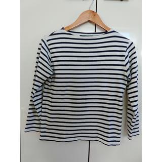 セントジェームス(SAINT JAMES)の《vintage》セントジェームス ボーダー Tシャツ 長袖 ロンT  白 紺(カットソー(長袖/七分))