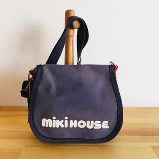 ミキハウス(mikihouse)の【mikihouse】キャンバス生地 サコッシュ(ショルダーバッグ)
