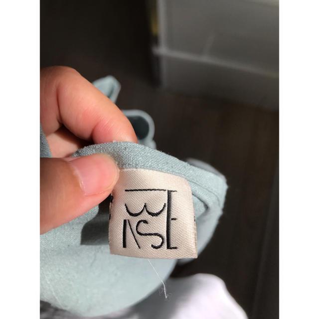 IENA(イエナ)の最終値下げ ベースレンジ  baserange   エプロンワンピース s レディースのワンピース(ロングワンピース/マキシワンピース)の商品写真