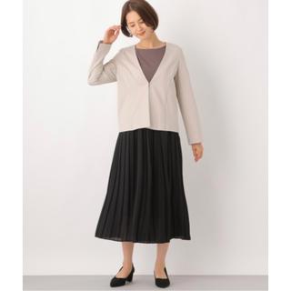 レプシィム(LEPSIM)の新品  人気・完売 レプシム LEPSIM プリーツスカート ロング 黒(ロングスカート)