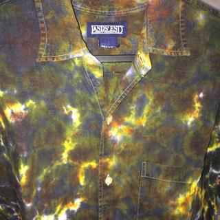 サンシー(SUNSEA)のMASU 型 マーブル柄 シャツ (シャツ)