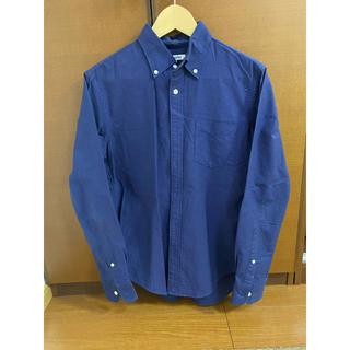 グローバルワーク(GLOBAL WORK)のGLOBALWORK グローバルワーク メンズシャツ ネイビー M(シャツ)