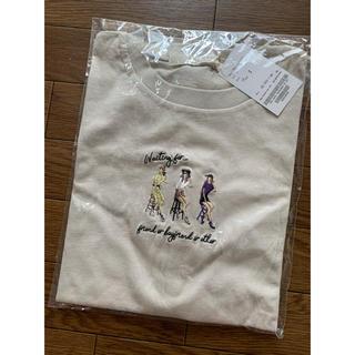 レイカズン(RayCassin)のRayCassin 女の子 刺繍 Tシャツ(Tシャツ(半袖/袖なし))