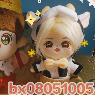 Exo bts kpop 東方神起 ぬいぐるみ服 20cm 可愛い服 動物 乳牛