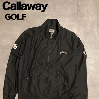 キャロウェイゴルフ(Callaway Golf)のCallaway キャロウェイ ゴルフウェア outerwear 刺繍ロゴ(ウエア)