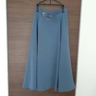 F i.n.t - フレアロングスカート