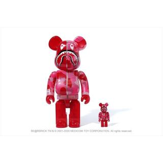 BE@RBRICK BAPE 100% & 400% ピンク(その他)