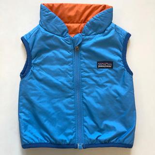パタゴニア(patagonia)のPatagonia パタゴニアベビー ブルー オレンジ ベスト 6M 65 70(ジャケット/コート)
