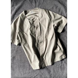サンシー(SUNSEA)のsunsea ノーカラーシャツ(シャツ)