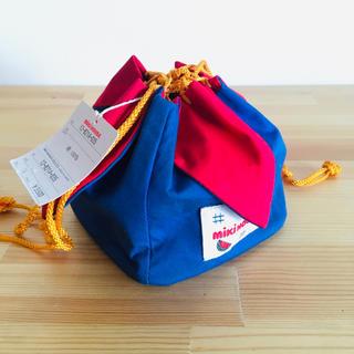 ミキハウス(mikihouse)の【mikihouse】巾着袋 キッズ お弁当袋(ランチボックス巾着)