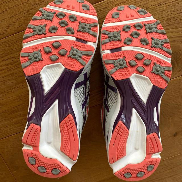 asics(アシックス)の美品 asics アシックス スニーカー 20cm 21cm キッズ/ベビー/マタニティのキッズ靴/シューズ(15cm~)(スニーカー)の商品写真