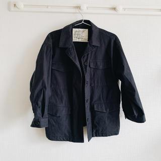 スタディオクリップ(STUDIO CLIP)の美品ミリタリーワークジャケット(ミリタリージャケット)