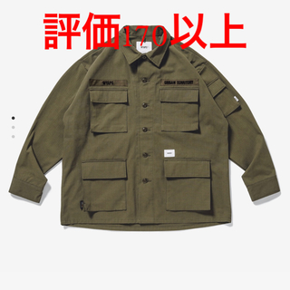 W)taps - WTAPS JUNGLE / LS /NYCO.RIPSTOP.CORDURA®