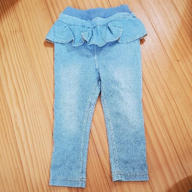 petit main(プティマイン)のpetit main デニム size80 キッズ/ベビー/マタニティのベビー服(~85cm)(パンツ)の商品写真